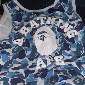 Bape wife beater